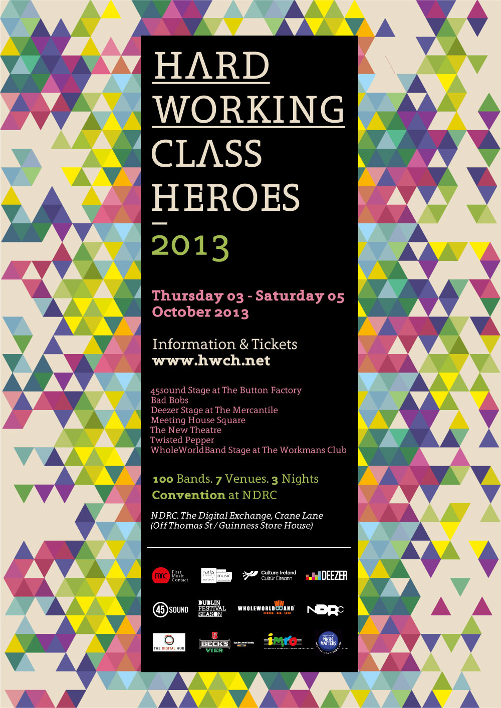 2013 Archive - Hard Working Class Heroes